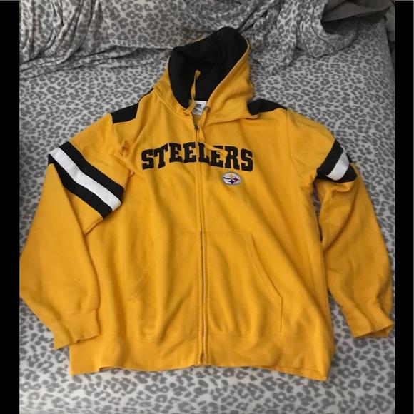 new arrivals 3c549 2c2c9 Steelers hoodie size men xl